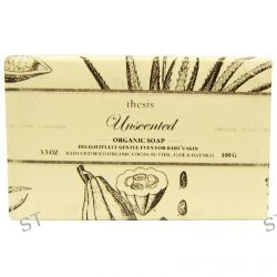 Thesis, Organic Soap, Unscented, 3.5 oz (100 g)