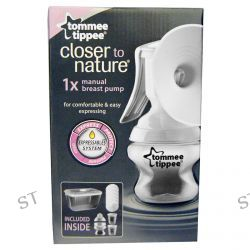 Tommee Tippee, Closer to Nature, Manual Breast Pump Kit