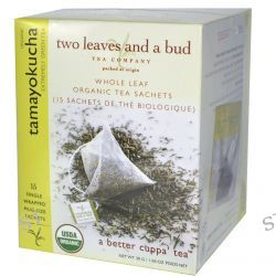 Two Leaves and a Bud, Organic Tamayokucha, Extremely Green Tea, 15 Sachets, 1.06 oz (30 g)