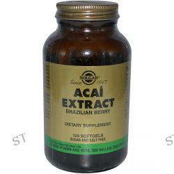 Solgar, Acai Extract, 120 Softgels