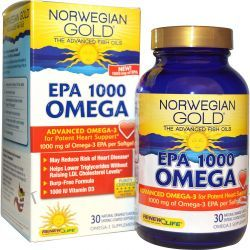 Renew Life, Norwegian Gold, EPA 1000 Omega, Orange Flavor, 1000 mg, 30 Enteric-Coated Softgels