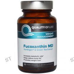 Quality of Life Labs, Fucoxanthin MD, 30 Liquid Veggie Caps