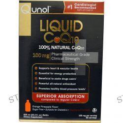 Qunol, Liquid CoQ10, Orange Pineapple Flavor, 100 mg, 20.3 fl oz (600 ml)