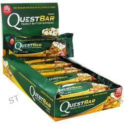 Quest Nutrition, QuestBar, Protein Bar, Peanut Butter Supreme, 12 Bars, 2.1 oz (60 g) Each