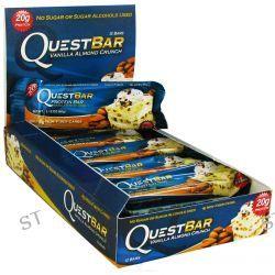 Quest Nutrition, QuestBar, Protein Bar, Vanilla Almond Crunch, 12 Bars, 2.12 oz (60 g) Each