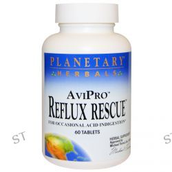 Planetary Herbals, AviPro Reflux Rescue, 60 Tablets