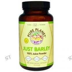 Pure Planet, Just Barley, 333 mg, 180 Veggie Caps