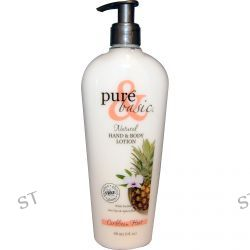 Pure & Basic, Natural Hand & Body Lotion, Caribbean Heat, 12 fl oz (350 ml)