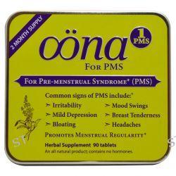 Oona, PMS1, For Pre-Menstural Syndrome, 90 Tablets