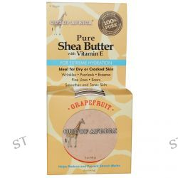Out of Africa, Pure Shea Butter with Vitamin E, Grapefruit, 5 oz (142 g)