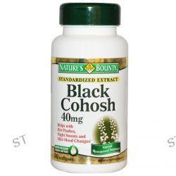 Nature's Bounty, Black Cohosh, 40 mg, 90 Softgels