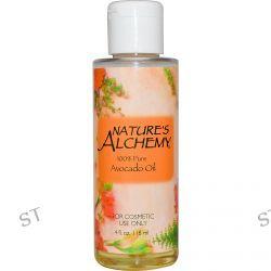 Nature's Alchemy, Avocado Oil, Fragrance Free, 4 fl oz (118 ml)