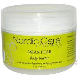 Nordic Care, LLC., Harmony, Body Butter, Asian Pear, 8 oz (240 ml)