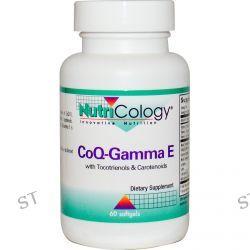Nutricology, CoQ-Gamma E, 60 Softgels