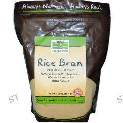 Now Foods, Real Food, Rice Bran, 20 oz (567 g)