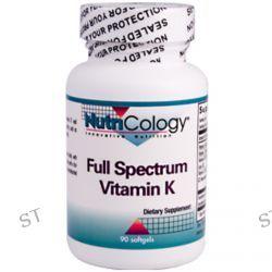 Nutricology, Full Spectrum Vitamin K, 90 Softgels