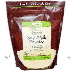 Now Foods, Real Food, Organic Soy Milk Powder, 20 oz (567 g)