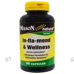 Mason Vitamins, In-fla-mend & Wellness, 60 Capsules