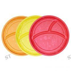 Munchkin, Multi Divided Plates, 3 Pack