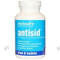 Michael's Naturopathic, Antisid, 90 Veggie Chewable Wafers