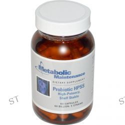 Metabolic Maintenance, Probiotic HPSS, High-Potency, Shelf Stable, 60 Capsules