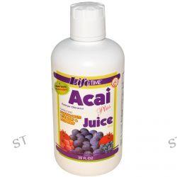 Life Time, Acai Plus Juice Blend, 32 fl oz