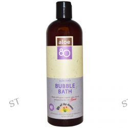 Lily of the Desert, Aloe 80, Bubble Bath, Aloe Vera, 16 fl oz (473 ml)