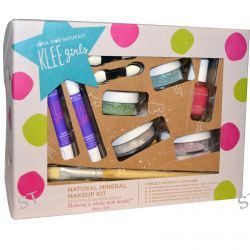 Luna Star Naturals, Klee Girls, Natural Mineral Makeup Kit, Far and Wide, 7 Piece Kit