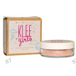Luna Star Naturals, Klee Girls, All Natural Mineral Blush with Puff, DelRay Reflection, 0.11 oz (3 g)