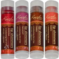 Kuumba Made, Lip Shimmers, 4 Pack, .15 oz (4.25 g) Each
