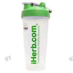iHerb Goods, Blender Bottle with Blender Ball, Green, 28 oz
