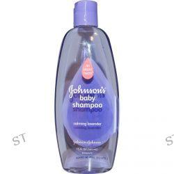 Johnson & Johnson, Baby Shampoo, Calming Lavender, 15 fl oz (444 ml)
