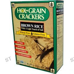 Hol Grain, Brown Rice Crackers, with a Light Touch of Salt, 4.5 oz (127 g)