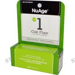 Hyland's, NuAge, No 1 Calc Fluor (Calcium Fluoride), 125 Tablets