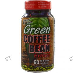 Fusion Diet Systems, Green Coffee Bean Extract, 60 Veggie Caps