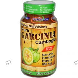 Fusion Diet Systems, Pure Garcinia Cambogia, 800 mg, 60 Veggie Caps