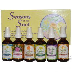 Flower Essence Services, Seasons of the Soul, 6 Bottles, 2 fl oz (60 ml) Each