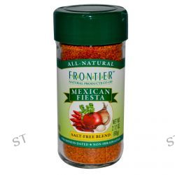 Frontier Natural Products, Mexican Fiesta, Salt-Free Blend, 2.12 oz (60 g)