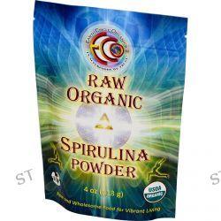 Earth Circle Organics, Spirulina Powder, Raw, Organic, 4 oz (113 g)