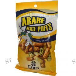 Eden Foods, Arare Rice Puffs, Five Flavors, 2.4 oz (70 g)