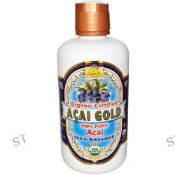 Dynamic Health  Laboratories, Acai Gold, Organic Certified, 32 fl oz (946 ml)