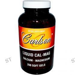 Carlson Labs, Liquid Cal-Mag, 250 Soft Gels