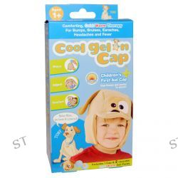 Cool Gel 'n Cap, Toby, Children's First Aid Cap, 1 Cap