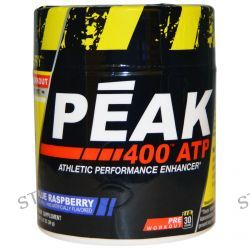Con-Cret, Peak 400 ATP, Athletic Performance Enhancer, Blue Raspberry, 1.27 oz (36 g)