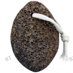 Bass Brushes, Real Volcano Rock, For Hands, Feet & Body, 1 Rock