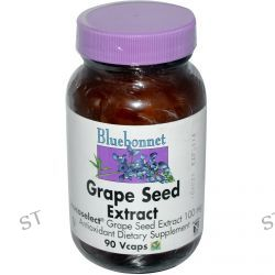 Bluebonnet Nutrition, Grape Seed Extract, 100 mg, 90 Vcaps