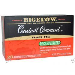 Bigelow, Black Tea, Constant Comment, Decaffeinated, 20 Tea Bags, 1.18 oz (33 g)