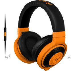 Razer Kraken Mobile Headphones (Neon Orange) RZ04-01400400-R3U1