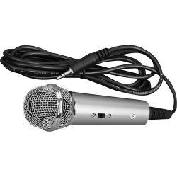 Pyle Pro PMIKC20SL Vocal Condenser Microphone (Silver) PMIKC20SL