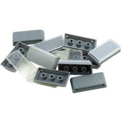 X-keys XK-A-502-R Tall Keycaps (Gray, Pack of 10) XK-A-502-R B&H